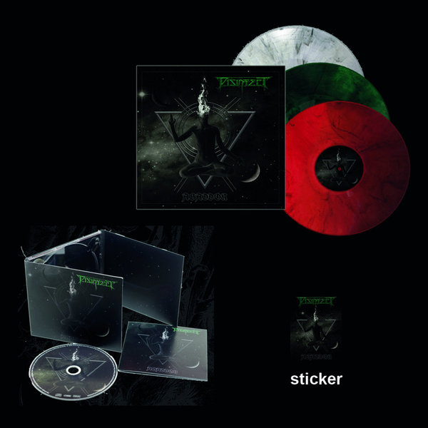 Vinyl + Digi-CD + Sticker - Abaddon